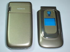 new  nokia 6085 light brown cover  housing keypad set