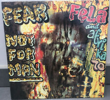 FELA AND AFRICA 70 - NOT FEAR MAN / KALAKUTA RECORDS REISSUE 2001 / LP NM/EX