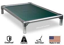 Kuranda All-Aluminum Dog Bed - 40oz Vinyl Fabric - Hunter Green