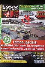 MODELISME FERROVIAIRE TRAIN MAGAZINE LOCO REVUE N° 716 de 2007