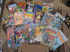 lot of 18 DC comics Bloodlines Justice League Batman Doc Savage Swamp Thing