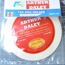 Arthur Daley Motorama Tax Disc Parking Permit Holder Toyota Rover SEAT Fiat Ford