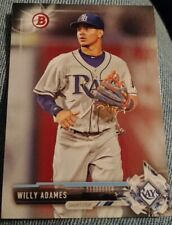 2017 Bowman Prospects #BP140 Willy Adames Tampa Bay Rays Rookie Baseball Card