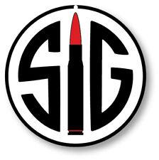 SIG Sauer Arms Round Guns Aluminum Metal Sign