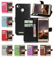 For Xiaomi Redmi 3 Pro/3S Magneti PU Leather Wallet Card Holder Stand Case Cover