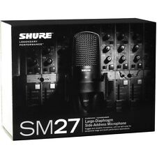 Shure SM27-SC SM27 Large Diaphragm Side Address Microphone - Ships FREE U.S