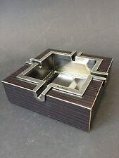 Marlboro Aschenbecher Holz Metall Edel NEU OVP Zigaretten Ashtray Altes Design