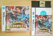 Pokemon Conquest - Nintendo DS game - Lite / DSi / XL / 2DS / 3DS - Age 3+ PAL