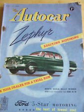 May Autocar Cars, Pre-1960 Magazines in English