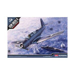 ACADEMY 12324 SB2U-3 Vindicator Battle of Midway 1:48 PLASTIC MODEL KIT