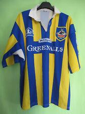 Maillot Warrington Wolves rlfc 1991 Greenalls Ellgren Vintage Jersey - XXXL
