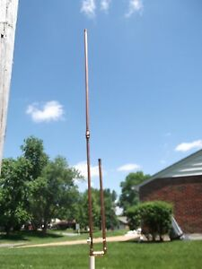 Copper J-Pole Antenna for NOAA Weather Frequencies- Free Shipping