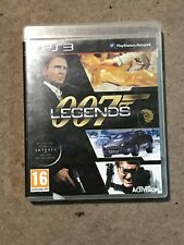 007 Legends Sony Playstation 3 Game Uk CiB