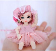 "1/12 Resin BJD MSD Lifelike Doll Joint Dolls Women Girl Gift Pukipuki Ante 4"""
