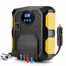 Digital Tire Inflator DC 12 Volt Car Portable Air Compressor Pump Car Motorcycle
