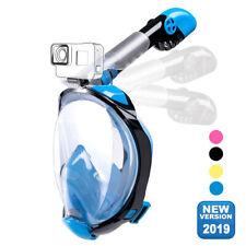 New listing Anti-fog 180° Full Face Snorkel Mask Diving Snorkeling Scuba Masks for Kids S/M