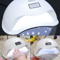 Lampada UV SUN5 48W LED fornetto ricostruzione unghie gel tips colata manicure