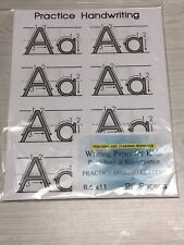 Writing Paper for Kids -  MAKING LETTERS PRACTICE - 11X 8.5 in, 20 lb, 26 sheets