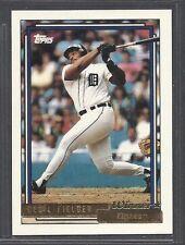 1992 Topps Baseball - Gold Winner - #425 - Cecil Fielder - Detroit Tigers