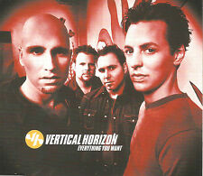 VERTICAL HORIZON Everything you want MIX & 2 LIVE TRX CD single SEALED USA Seler