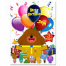730; Large Personalised Birthday card; little Hey Duggee; for any name age