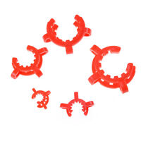 10PCS Plastic Lab Clamp Clip Keck For Glass Ground Joint Multiple Size B JFFB