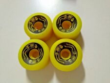 VINTAGE VARISURF POWELL PERALTA BONES YELLOW SKATEBOARD WHEELS - 95A -OLD SCHOOL