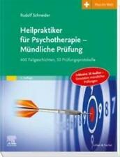 Heilpraktiker für Psychotherapie - Mündliche Prüfung Rudolf Schneider Buch 2019