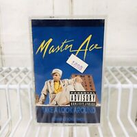 Masta Ace Take A Look Around Master 1990 Cassette Tape Album Rap Hip Hop New