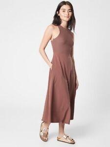 ATHLETA Winona Midi Support Dress  XS X-Small   Hearth Rose NEW