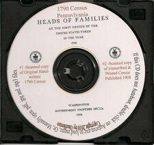 1790 Census CD - Pennsylvania