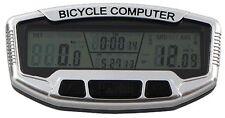 Compteur vélo 28 fonctions filaire rétroéclairé vitesse thermomètre odomètre vtt