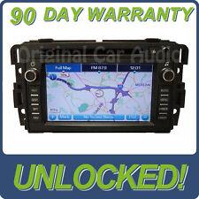 UNLOCKED GMC Navigation Radio CD Player GPS Display Screen Monitor 15940103 OEM