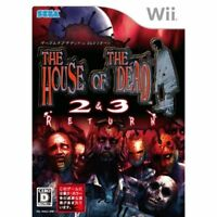 Used Wii The House of the Dead 2 3 Return Japan Import