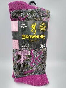 Browning Women's Merino Wool Socks- Irregular