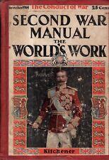 1914 World's Work November - Kitchener; Kewpies; Modern aviation fighting; China