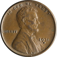 1931-D Lincoln Cent Great Deals From The Executive Coin Company