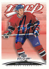 MIKE KOMISAREK CANADIENS AUTOGRAPH AUTO 03-04 UPPER DECK MVP #232 *22511