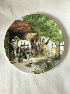 """Vintage Royal Doulton Plate."""" THE BLACKSMITH"""". Old Country Crafts By Susan Neale"""