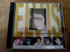 RARE ELVIS PRESLEY CD - THE BRIGHTEST STAR ON SUNSET BOULEVARD VOL.1-2 - BAXTER