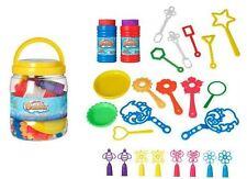 Bucket Of Bubbles Kids Children Play Fun Gift Activity Outdoor Shape Creative