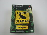 Seaman with controller Playstation PS2 Japan Ver Play Station