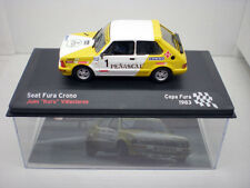 COCHE SEAT FURA CRONO 1:43 IXO model car rally fiat kuru Villacieros 1983 !!!!!!