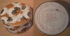 ancienne boite à poudre de couleur Rachel n°1 COTY parfum milieu XX ème