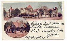 1905 MANITOU CO COLO EMBOSSED 2 VIEW POSTCARD PC4004