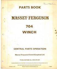 MASSEY Ferguson MF 704 ARGANO parti manuale-mf704
