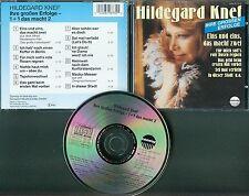 Hildegard Knef  CD  EINS UND EINS MACHT ZWEI ( IHRE GROSSEN ERFOLGE)