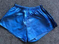 MENS ADIDAS BLUE VINTAGE RETRO ORIGINAL FOOTBALL SHORTS M