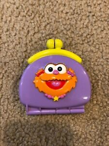 Sesame Street Toy My First Purse Elmo & Zoe 1999 Change Purse Replacement Rattle