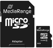 16gb MicroSD Class 10 Speicherkarte Micro SDHC Sd-adapter